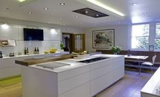 37+ ideas kitchen island with hob spaces #kitchen