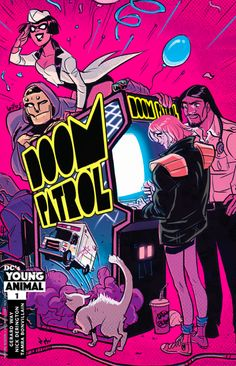 Doom Patrol #1 Variant cover by Babs Tarr