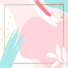 Geometric Wallpaper Background, Framed Wallpaper, Pink Wallpaper Iphone, Background Patterns, Wallpaper Backgrounds, Abstract Backgrounds, Instagram Background, Instagram Frame, Creative Poster Design