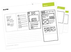 Responsive Sketchsheets  Start working out your responsive layouts through sketches using our super awesome responsive sketchsheets!