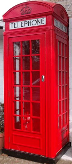 This Is Amazing Diy K2 Red Telephone Booth Diy Projects