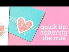 Quick Tip Video: Adhering Intricate Dies + Giveaway! | Jennifer McGuire Ink
