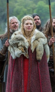 Lagertha, Vikings (Season 4 - 1st part) published by Blixtnatt