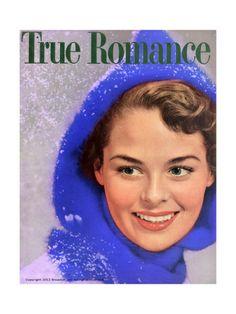 True Romance Vintage Magazine - February 1955 Giclee Print by Leo Aarons at Art.com