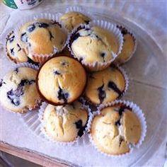 Awesome Blueberry Muffins Allrecipes.com