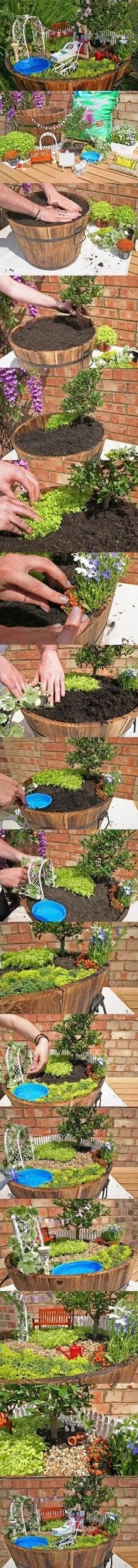 DIY Garden Fantasy garden gardening garden decor small garden ideas diy gardening garden ideas garden art diy garden diy darden gardening on a budget creative gardening ideas