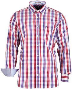 Das #Hemd im trendigen Karodesign begeistert mit der hochwertigen #Qualität und perfekten Passform.