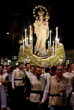 Palermo / Italy, Sicily I have been to this procession many times growing up. Spectacular!