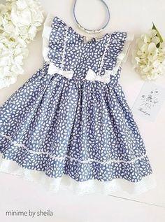 Cute Little Girl Dresses, Dresses Kids Girl, Kids Outfits, Children Dress, Children Clothing, Girls Frock Design, Baby Dress Design, Baby Frocks Designs, Kids Frocks Design