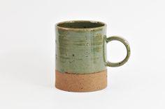 circle mug green