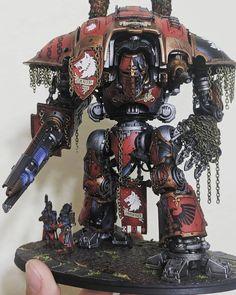 Warhammer 40k Tabletop, Knight Models, Imperial Knight, Warhammer Models, Warhammer 40k Miniatures, Warhammer 40000, Dark Knight, Sci Fi, War Hammer