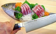 """""""GOUGIRI"""" shows the best performance when cooking! It is recommended when you want to cook for the first time and fast speed! Please do check it! Kitchen Knives, Kitchen Tools, Chef's Choice, Professional Chef, Home Chef, Chef Knife, Kitchen Sets, Sashimi, Culinary Arts"""