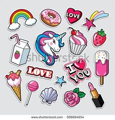 Find Fashion Patch Badges Style Vector stock images in HD and millions of other royalty-free stock photos, illustrations and vectors in the Shutterstock collection. Tumblr Stickers, Cute Stickers, Badge, Banners, Aesthetic Stickers, Cute Icons, Silkscreen, Cute Drawings, Doodle Art