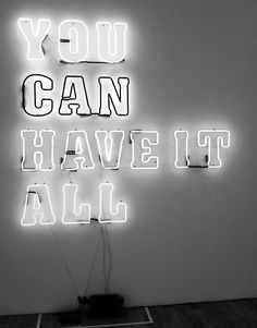 You can have it all,