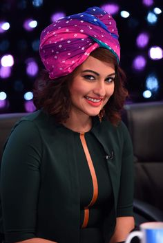 Sonakshi Sinha as a judge with Indian Idol Junior.
