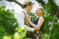1920′s Engagement Session