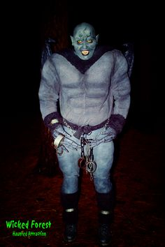 Goliath at the Wicked Forest Haunted Attraction in Logan, Ohio