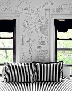 grafitti bed