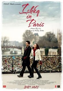 Hindi Bollywood Movies: Ishkq in Paris movie releasing this friday.
