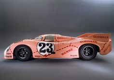 Sketchbook historic cars Pictures: Three magic numbers 9 1 7 - PORSCHE 917