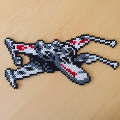 X-Wing Star Wars perler beads  by rachrafferty