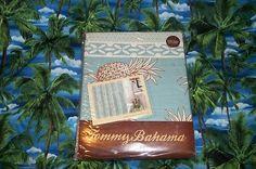 TOMMY BAHAMA PINEAPPLE ISLAND (MALIBU BLUE) SHOWER CURTAIN  , $38.99