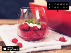 Ich koche Himbeergranité mit Minzjoghurt mit Kitchen Stories. Einfach köstlich! Hol dir jetzt das Rezept: http://getks.io/de/2785
