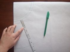 Peplum pattern drafting