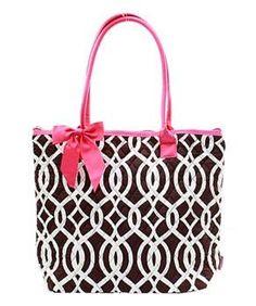 "16"" Quilted Tote Bag Handbag Purse"