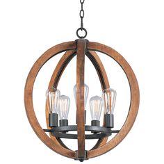 Maxim Lighting Bodega Bay 5 Light Chandelier w/Bulb, Grey Rectangle Chandelier, Globe Chandelier, 5 Light Chandelier, Lantern Pendant, Pendant Lighting, Light Pendant, Chandeliers, Mini Pendant, Foyer Lighting
