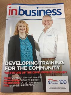 We are honoured to be featured in the Northamptonshire Chamber inbusiness magazine. Read about our company and our plans for the future. #thedevco #thedevcotips #chambertraining