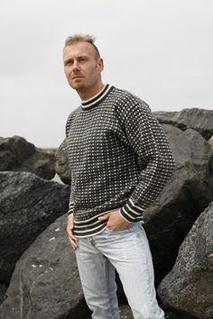 Færøsk Strik trøje fra Norwool af 100% ren ny uld