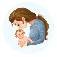 This is a series of illustrations that shows the love between mother and child. Mothers Quotes To Children, Mothers Love, Child Quotes, Son Quotes, Daughter Quotes, Family Quotes, Cartoon Kids, Cartoon Art, Cute Cartoon