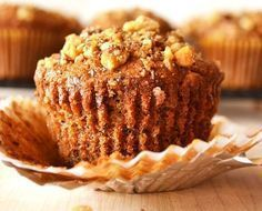 BANANA NUT MUFFINS Banana nut muffins, this is so quick , easy, moist, & full of flavor. These delicious muffins are one of my all time favo. Muffin Recipes, Baking Recipes, Healthy Recipes, Banana Nut Muffins, Chewy Chocolate Chip Cookies, Chocolate Chips, Chocolate Cake, Baked Goods, The Best