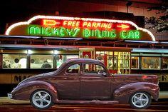 Title  Mickeys Dinner   Artist  Gary Keesler   Medium  Photograph