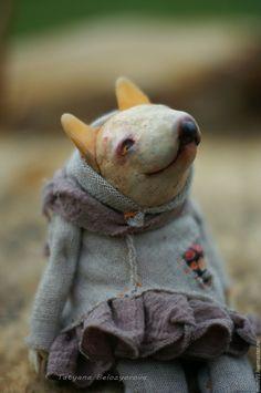 Юкки – купить или заказать в интернет-магазине на Ярмарке Мастеров   Милая собачка Юкки, явно бультерьерской…