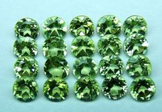 Masterpiece Natural Fine Peridot 3 MM Cut Loose (5) Piece Round Gemstone AAA