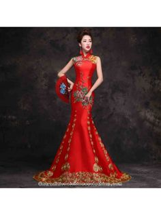 b06629253b 12 Best Red Chinese Dress images