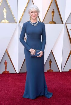Helen Mirren 2018 Oscars. She's amazing. Even did a tequila shot!