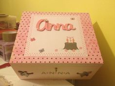 Memory box for little girl £35