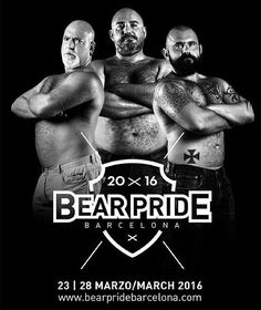 Bear Pride Barcelona  23-28 Marzo/March 2016  Merchandising: http://ift.tt/1nAAyBC by @cazabeareurope  Info: http://ift.tt/1nqh5my  #bearpridebarcelona #instabear #instagay #instawoof #hairybear #hairygay #saywoof #woof #scruff #musclegay #beardedgays #gaybcn #gayosos #gaybarcelona  #beard #bear365 #growlr #purebloodedbears #gayfat #picsbybears #grizzly #gayfur #gaymen #beardedmen #burly #beardy by bearpridebarcelona