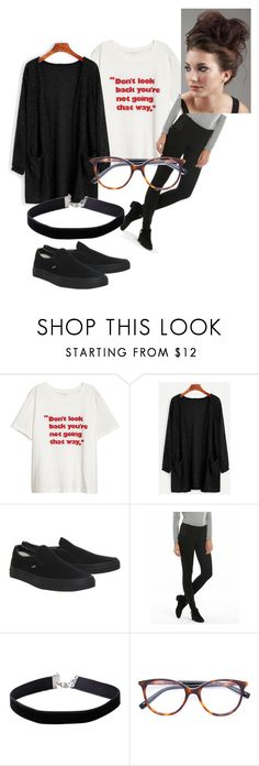 """""""Today's outfit"""" by thewhitebruja ❤ liked on Polyvore featuring Vans, Miss Selfridge and MaxMara"""