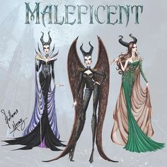 Maleficent Haute Couture by Guillermo Meraz. Which was your favourite outfit?? ;-)