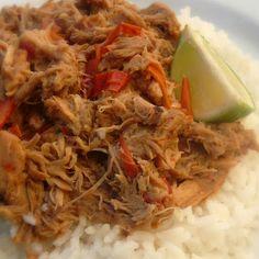 Crockpot Thai Pork With Peanut Sauce