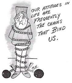 Life Lesson Cartoons: Life Lesson Cartoon The Impact of Our Attitudes