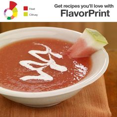 This chilled papaya and watermelon summer soup, scented with coriander ...