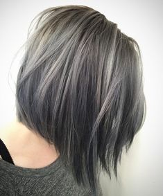 Grey And Black Bob