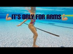 Only biceps and triceps - Fitness and Exercises Water Aerobics Routine, Water Aerobics Workout, Water Aerobic Exercises, Swimming Pool Exercises, Pool Workout, Triceps Workout, Water Workouts, Boxing Workout, Zumba