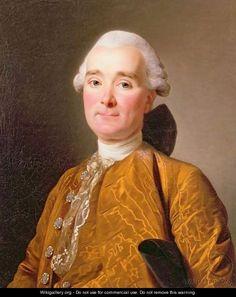 Portrait of Martin-Pierre Foache - Alexander Roslin