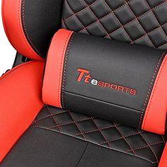 Thermaltake Tt eSPORTS GT Fit F100 Racing Bucket Seat Style Ergonomic Gaming Chair Black/Red GC-GTF-BRMFDL-01: Amazon.com.mx: Hogar y Cocina